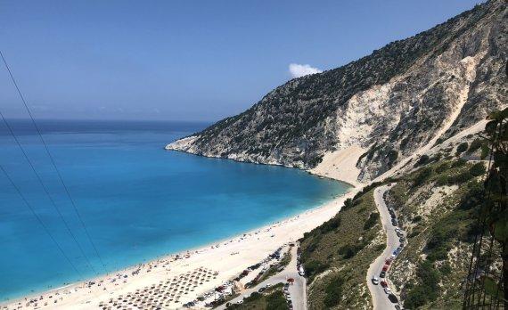 S.Galdikaitės nuotr./Myrtos paplūdimys