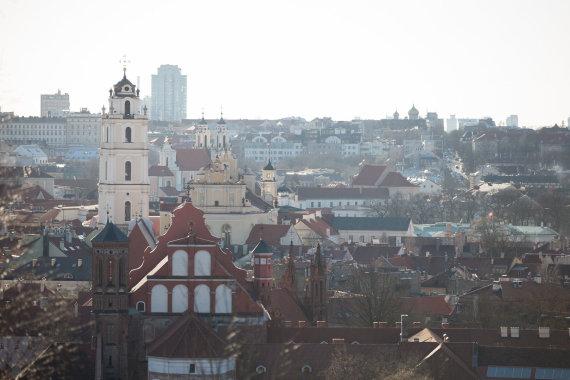 Žygimanto Gedvilos / 15min nuotr./Vilniaus panorama nuo Altanos kalno