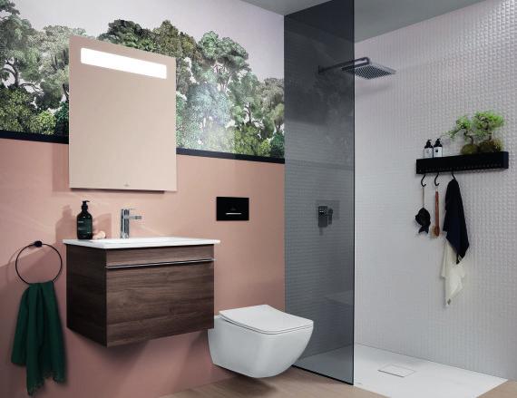 """Vonios kambario kolekcija """"Venticello"""" (gamintojas – """"Villeroy & Boch"""")"""