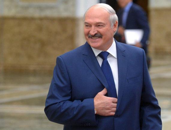 """""""Sputnik"""" nuotr./Aliaksandras Lukašenka"""