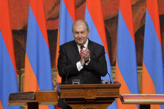 """""""Scanpix""""/AP nuotr./Armenas Sargsianas"""