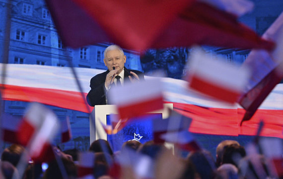 """Scanpix""/AP nuotr./PiS lyderis Jaroslawas Kaczynskis"