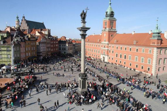 """AFP/""""Scanpix"""" nuotr./Varšuva"""