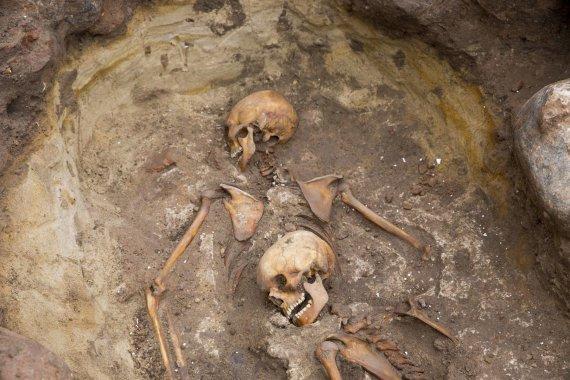 Irmanto Gelūno / 15min nuotr./Archeologiniai kasinėjimai ant Gedimino kalno
