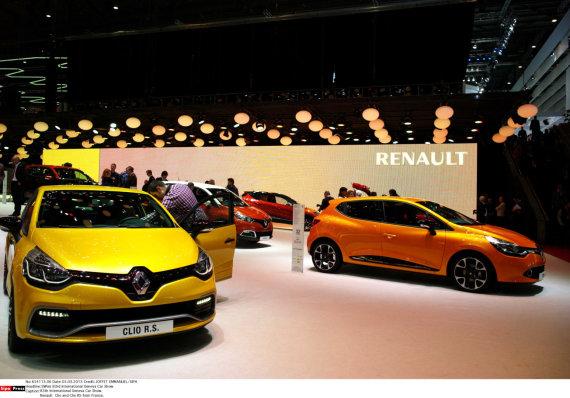 "JOFFET EMMANUEL/SIPA/ Scanpix nuotr./""Renault Clio"""