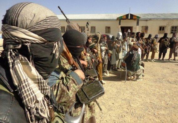 """""""Scanpix""""/""""SIPA"""" nuotr./Talibano kovotojai"""