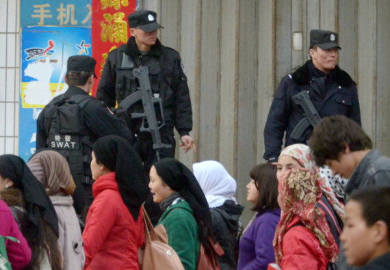 """Scanpix""/AP nuotr./Uigūrai Kinijoje"