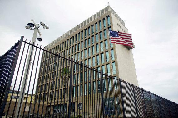 """Reuters""/""Scanpix"" nuotr./JAV ambasada Kuboje"