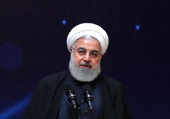 """Scanpix""/AP nuotr./Hassanas Rouhani"