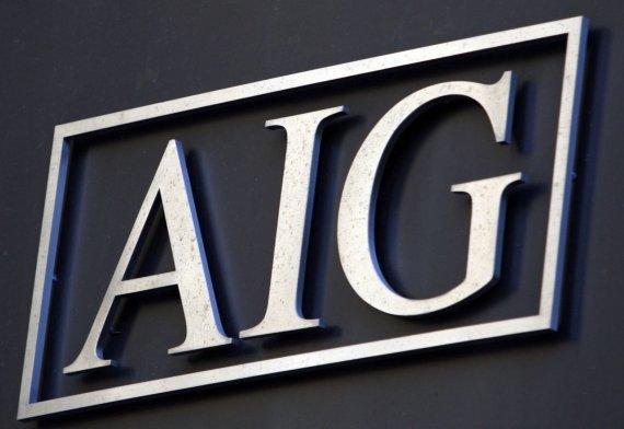 """""""Reuters""""/""""Scanpix"""" nuotr./AIG logotipas"""