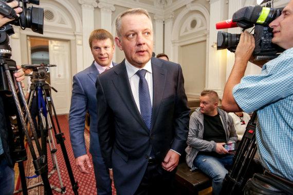 "Vidmanto Balkūno / 15min nuotr./""MG Baltic"" korupcijos bylos nagrinėjimas"