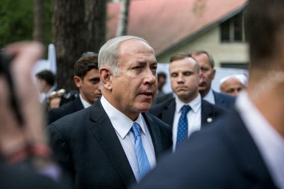 Juliaus Kalinsko / 15min nuotr./Benjaminas Netanyahu