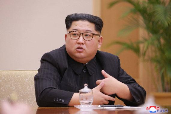 """""""Scanpix""""/AP nuotr./Kim Jong Unas"""