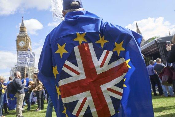 "AFP/""Scanpix"" nuotr./Eisena prieš ""Brexit"""