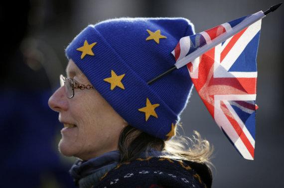 """""""Scanpix""""/""""Sipa USA"""" nuotr./Britų dauguma norėtų antro referendumo """"Brexit"""""""