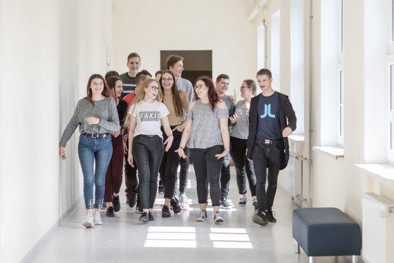 Klaipėdos valstybinės kolegijos nuotr./Klaipėdos valstybinės kolegijos studentai
