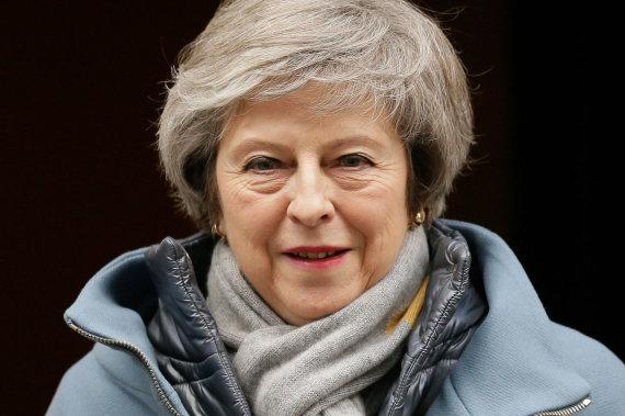 """Scanpix""/""SIPA"" nuotr./Theresa May"