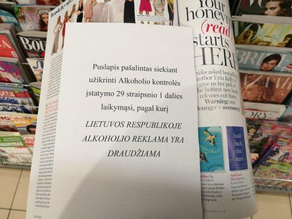 L.Vireliūnaitės nuotr. /Platintojų paašikinimas