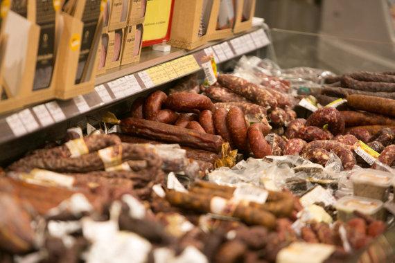 Juliaus Kalinsko / 15min nuotr./Mėsos produktai