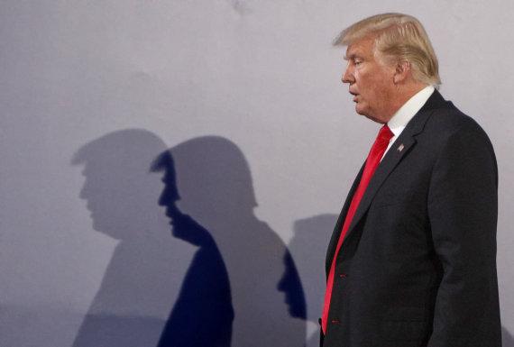 """""""Scanpix""""/AP nuotr./Donaldas Trumpas su šeima lankosi Lenkijoje"""
