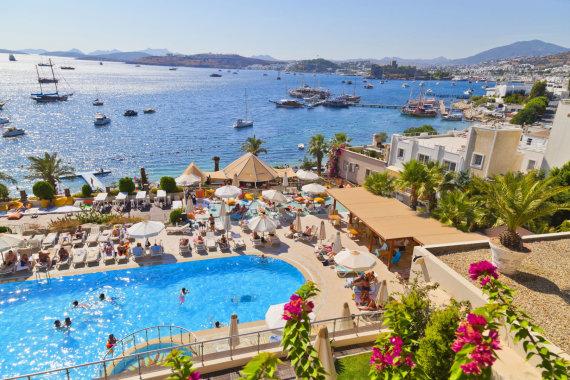 123rf.com nuotr./Viešbutis Turkijoje