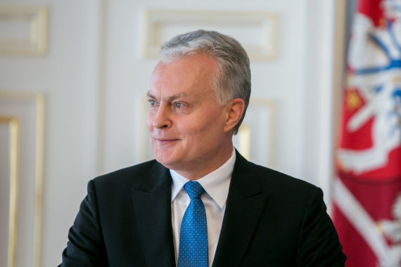 Juliaus Kalinsko / 15min nuotr./Gitanas Nausėda