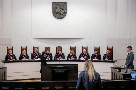 Vidmanto Balkūno / 15min nuotr./Konstitucinio Teismo sprendimas dėl Seimo LRT tyrimo teisėtumo