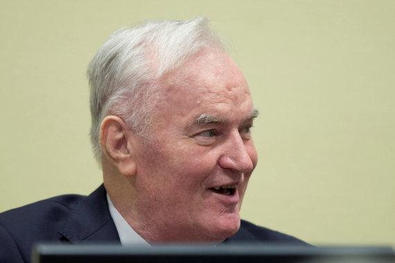 """""""Reuters""""/""""Scanpix"""" nuotr./Buvęs Bosnijos serbų pajėgų vadas R.Mladičius"""