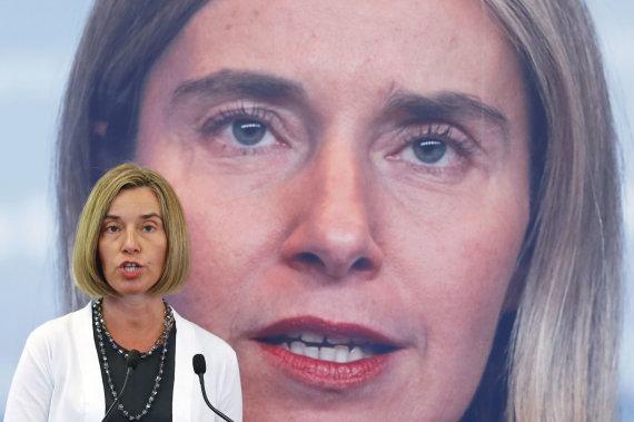 """Scanpix""/AP nuotr./Federica Mogherini"