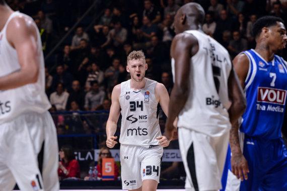 """""""Partizan NIS""""/ aba-liga.com nuotr./Jockas Landale'as"""