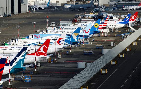 """Reuters""/""Scanpix"" nuotr./Nutupdyti ""Boeing 737 Max"""