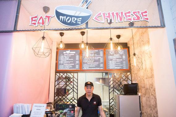 """Josvydo Elinsko / 15min nuotr./Kinų maisto taškas """"Est More Chinese"""""""