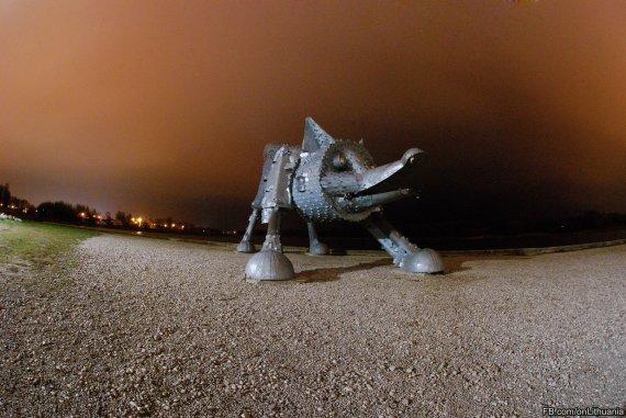 Agnė Malinauskaitė nuotr./Talkšos ežero lapė