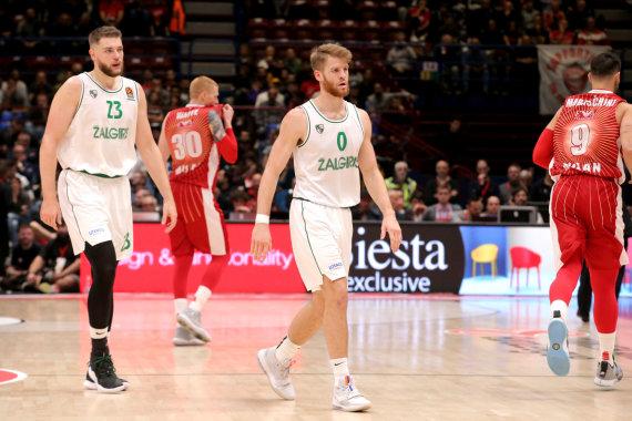 Getty Images/Euroleague.net nuotr./Martinas Gebenas ir Thomasas Walkupas