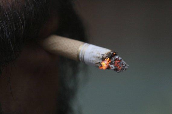 Serbai dievina cigaretes
