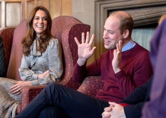 Vida Press nuotr./Kate Middleton su princu Williamu