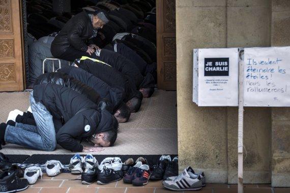 "AFP/""Scanpix"" nuotr./Musulmonai Prancūzijoje"