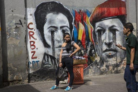 """Scanpix""/AP nuotr./Venesuelos kasdienybė"