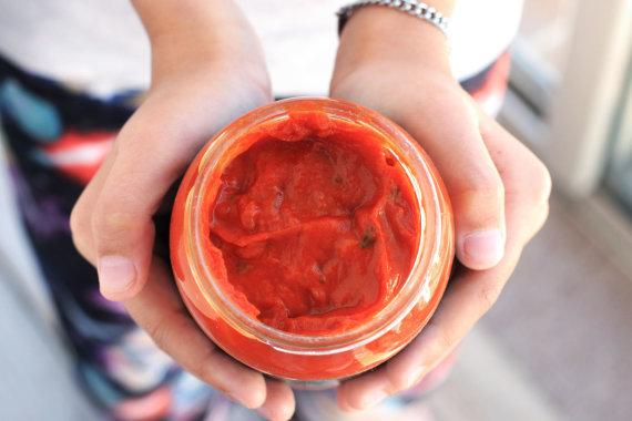 Vida Press nuotr./Naminis pomidorų padažas