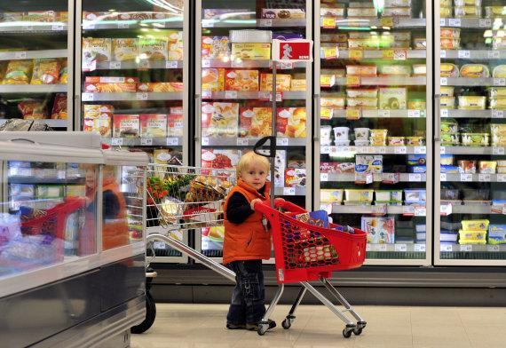 Vida Press nuotr./Vaikas prekybos centre