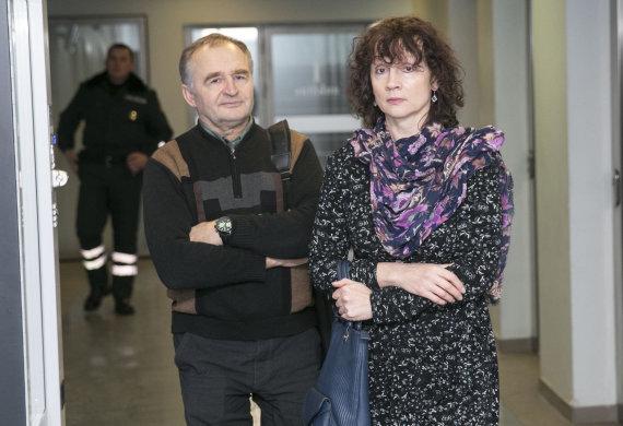 Luko Balandžio/Žmonės.lt nuotr./Jurgis Kairys su žmona Birute