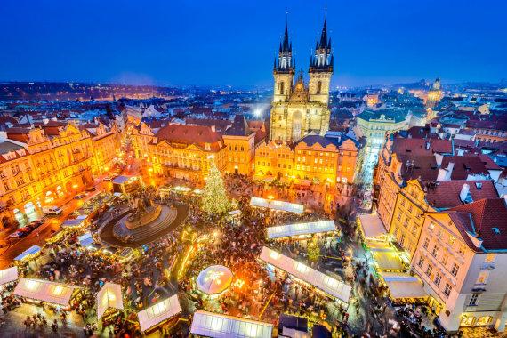 123rf.com nuotr./Kalėdos Prahoje