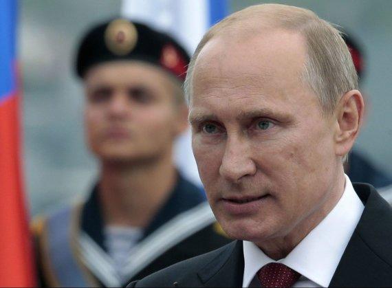 Scanpix/AP nuotr./Rusijos prezidentas Vladimiras Putinas