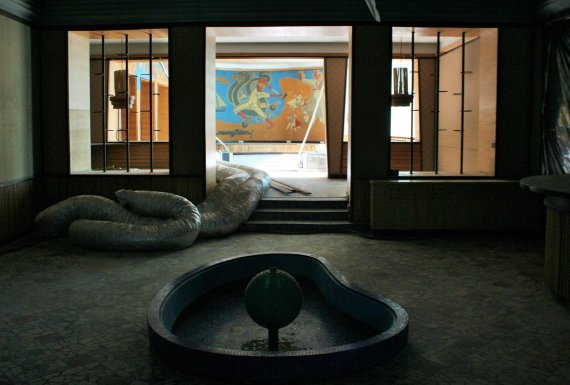"""Kultūros paveldo departamento nuotr./Viešbučio """"Neringa rekonstrukcija"""", restorano interjeras"""