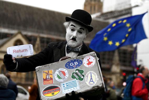 """""""Reuters""""/""""Scanpix"""" nuotr./Britai laukia sprendimo dėl """"Brexit"""""""
