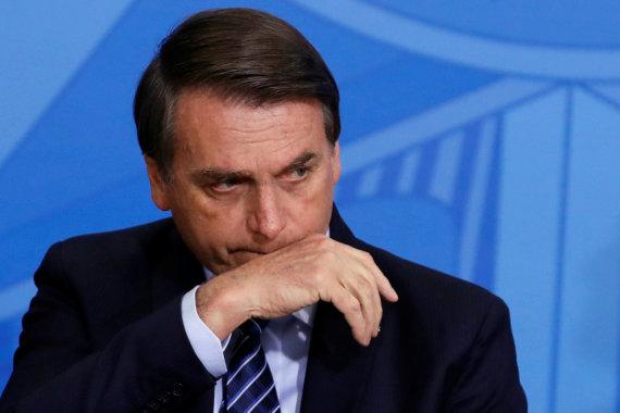 """Reuters""/""Scanpix"" nuotr./Jairas Bolsonaro"