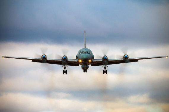 """AFP/""""Scanpix"""" nuotr./Sirijos pajėgos numušė Rusijos karo lėktuvą """"IL-20M"""""""