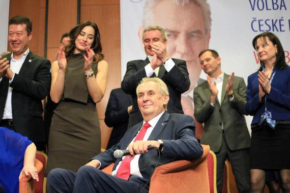 """AFP/""""Scanpix"""" nuotr./Milošas Zemanas"""