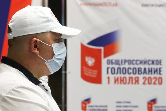 """""""Scanpix""""/ITAR-TASS nuotr./Referendumas Rusijoje dėl Konstitucijos pataisų"""