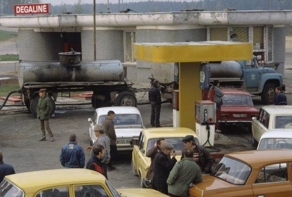 Photo by Scanpix / RIA Novosti / Economic blockade of Lithuania